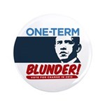 "One-Term BLUNDER! 3.5"" Button"