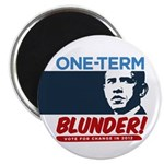 """One-Term BLUNDER! 2.25"""" Magnet (100 pack)"""