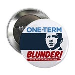 """One-Term BLUNDER! 2.25"""" Button (100 pack)"""