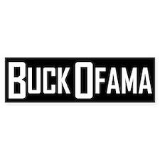 Buck Ofama Bumper Bumper Bumper Sticker