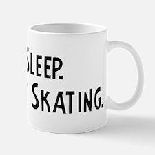 Eat, Sleep, Go Street Skating Mug