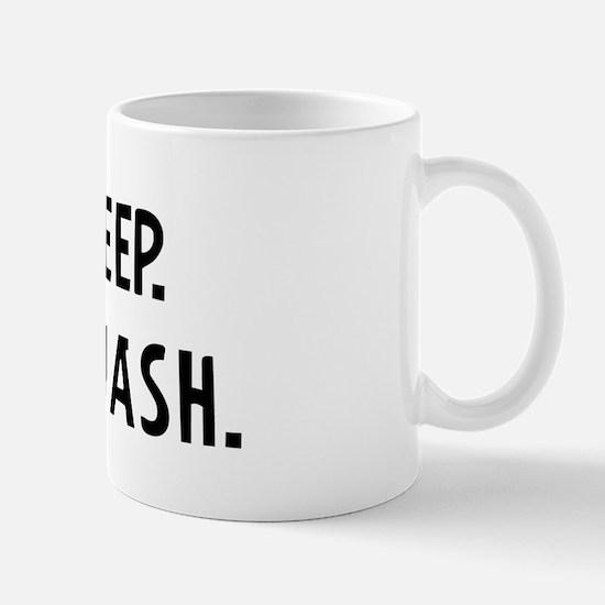Eat, Sleep, Play Squash Mug