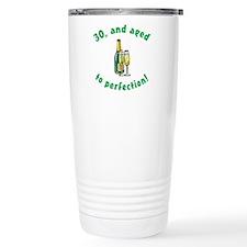Vintage 30th Birthday Travel Mug