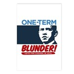 One-Term BLUNDER! Postcards (Package of 8)
