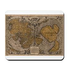 1531 World Map Mousepad
