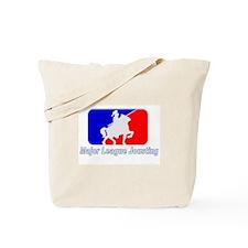Major League Jousting Tote Bag