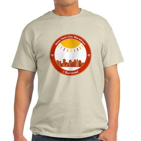 New York City Marathon - I Survived Light T-Shirt