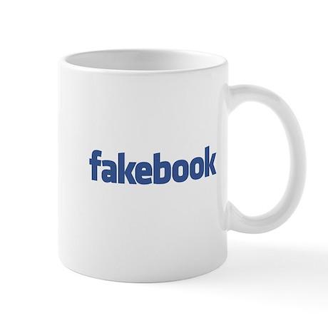 Fakebook Logo Mug
