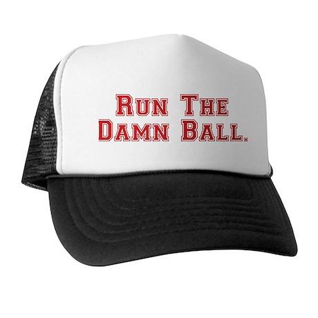 RunTheDamnBall Trucker Hat