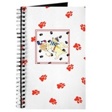 Gullivers Angels Yellow Sailor Lab Red Paw Journal