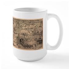 1581 World Map Mug
