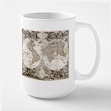 1708 World Map Mug