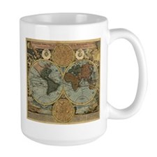 1716 World Map Mug
