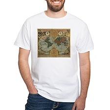 1716 World Map Shirt