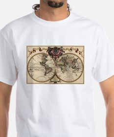 1720 World Map Shirt
