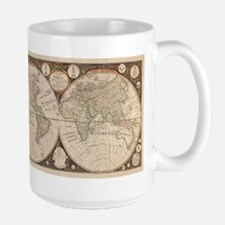 1799 World Map Large Mug