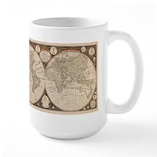 1799 World Map Mug