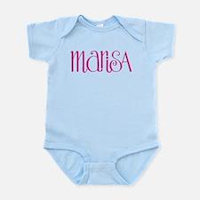 Marisa cherry pink Infant Bodysuit