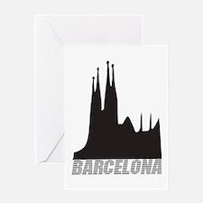 Barcelona Greeting Card