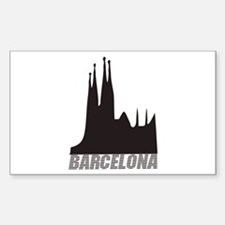 Barcelona Rectangle Decal