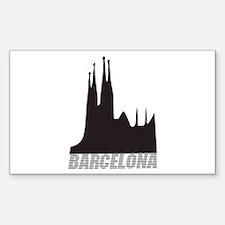 Barcelona Rectangle Decal
