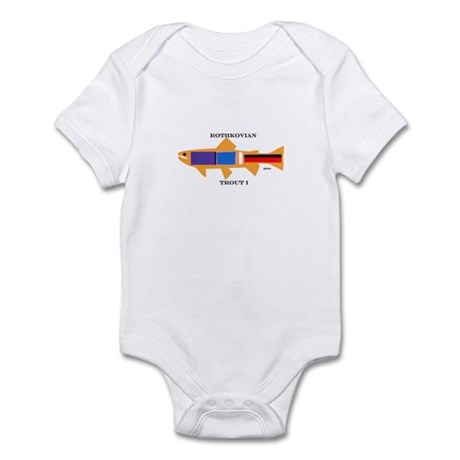 Rothkovian Trout Infant Bodysuit