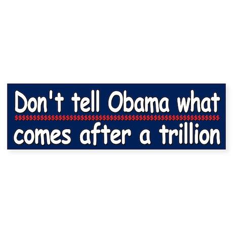 Don't tell Obama...