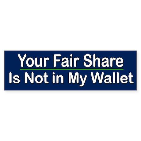 Your Fair Share...