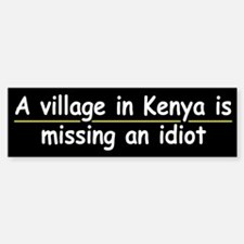 A Village in Kenya....