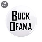 """Buck Ofama 3.5"""" Button (10 pack)"""