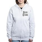 Buck Ofama Women's Zip Hoodie