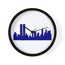 Skyline New York Wall Clock