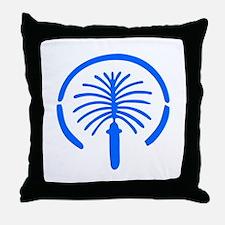 Palm Island - Dubai Throw Pillow