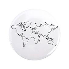 """World map 3.5"""" Button"""