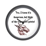 RPG Think of the experience points Wall Clock