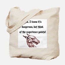 RPG Think of the experience points Tote Bag