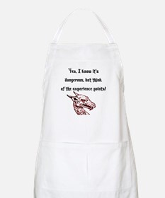 RPG Think of the experience points BBQ Apron