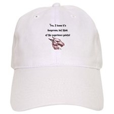 RPG Think of the experience points Baseball Cap