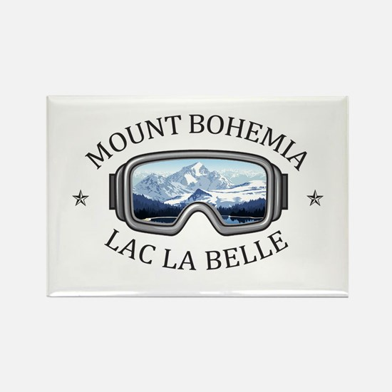 Mount Bohemia - Lac La Belle - Michigan Magnets