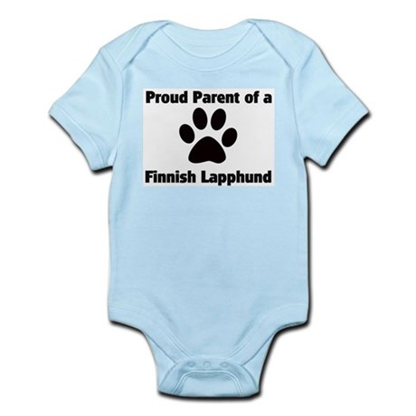 Proud: Finnish Lapphund Infant Creeper