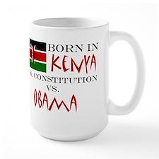 Obama Vs. Constitution, Born in Kenya Mug