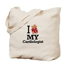 I Heart My Cardiologist Tote Bag