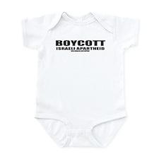 Boycott Apartheid Infant Bodysuit