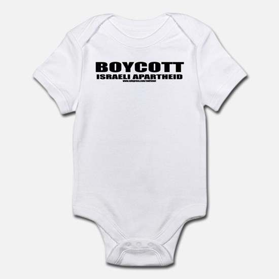 Boycott Apartheid Infant Bodysuit