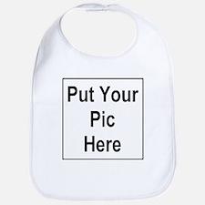 Put Your Pic Here Bib