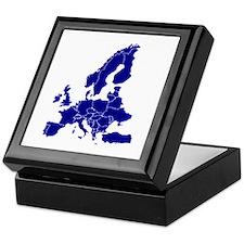 Europe Keepsake Box