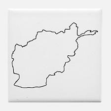 Afghanistan Tile Coaster