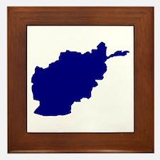Afghanistan Framed Tile