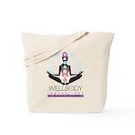 Wellbody Chakra Lotus Tote Bag
