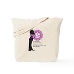 Crown Chakra Affirm Tote Bag